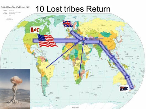 a description of the land of lost tribes and languages The ten lost tribes refers to the benjamin of tudela has a long description of the ten tribes and that they shall never be driven out of their land.